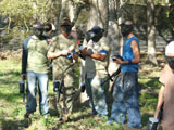 birthday paintball parties